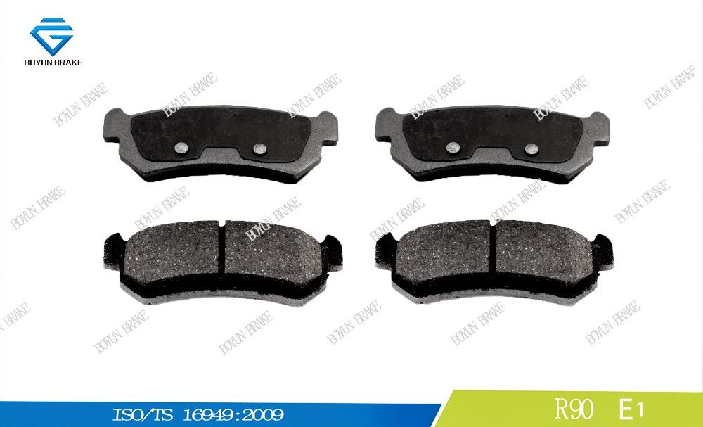 Cheapest brake pad with high quality D1036 96405131 WVA 24071