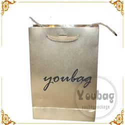 Recycled Competitive Price Custom wine gift paper bag made of art paper