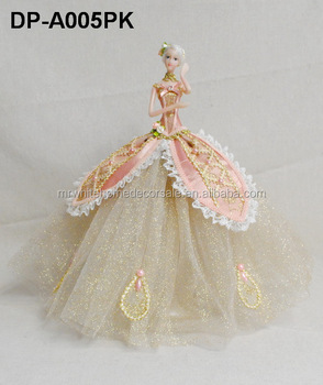 China doll manufacturers wholesale custom ballerina fashion dolls toys Ballerian resin ornament