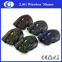 Ergonomic PC Silent Quiet Wireless Gaming Mouse For Professional Gamer