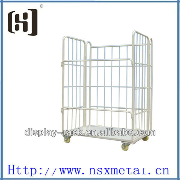 Metal folding heavy duty steel storage cages HSX-1881
