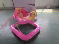 Baby Walker with european standard base walker with rubble stopper and elephant head walker for baby