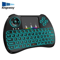 Factory Supply h9 air mouse keyboard for mini keyboard backlit for tcl smart tv With Long-term service 2.4G Wireless remote