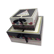 Professional colorful paper essential oil gift box set box