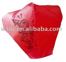 Handmade Giant Biodegradable Chinese Paper Sky Lantern