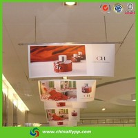 solvent polyester flag banner fabric,110gsm printing outdoor flag materials