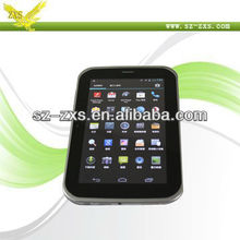 Zhixingsheng android smart mini pc 2G Sim Card Slot 7 inch android tablet with (MTK6515 processor) 2G phone calling ZXS-709A