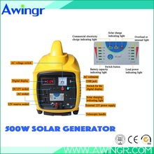 Newest high efficient silent 500w solar energy product