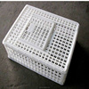 New material plastic chicken duck cage for transport