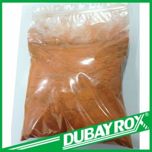 Iron Oxide Orange DB960 Pigment for Clay Brick Synthetic Polvo