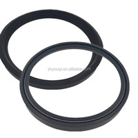 U Shape Oil seals No Framework no Skeleton Rubber Oil Seal NBR U type Machine sealing repair parts