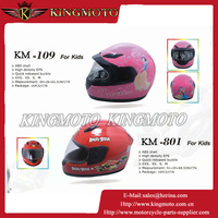 Top Quality kids child atv motorcycle cross full face helmet for KINGMOTO