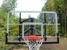 FIBA high quality Tempered glass basketball backboard for sale