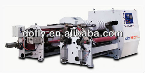 DSL1000EJ high-speed adhesive tape slitter and rewinder machine