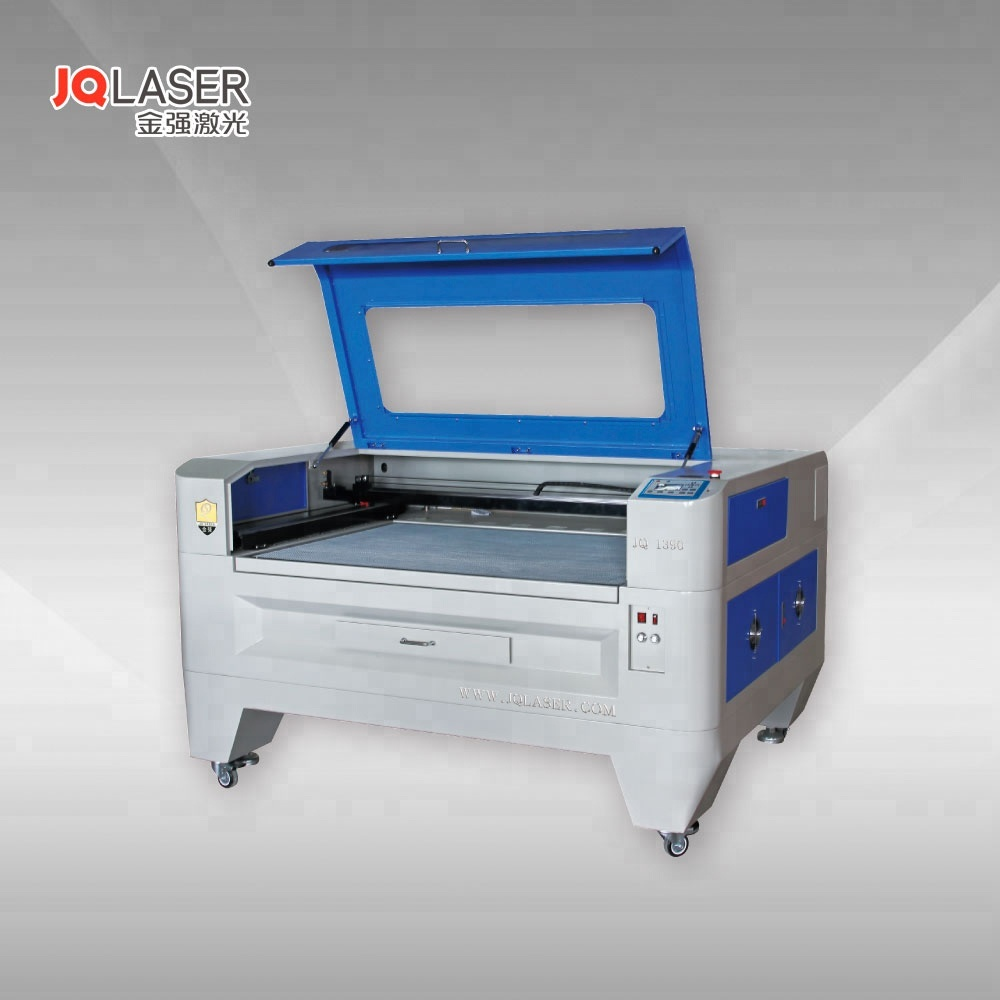 Jinan jq <strong>laser</strong> 1390 60W / 80W co2 <strong>laser</strong> engraving and cutting machine