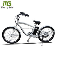 buy electric chopper beach cruiser bicicleta bicycles in china factory directly 250W 36V