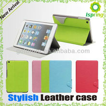 2013 factory supply, stylish case for ipad mini apple