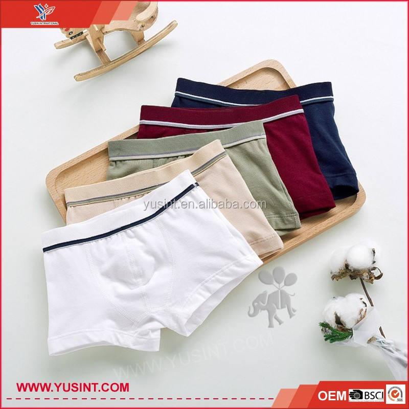 Cheap hot sale top quality child boxer shorts underwear