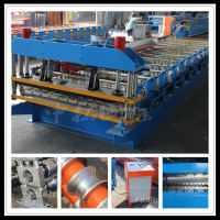 metal roofing tiles roll forming machine