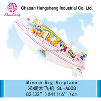 Inflatable zeppelin helium balloon