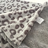 Leopard Animal Printing 100% Coral Fleece Bedding and Couch Blankets