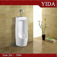 vitreous china urinal, public men's room urinal