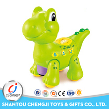 Top quality puzzle toys plastic intelligent cartoon electronic dinosaur