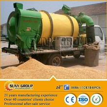 hot selling grain dryer 2014 small mechanical mobile cereal drying equipment for sale