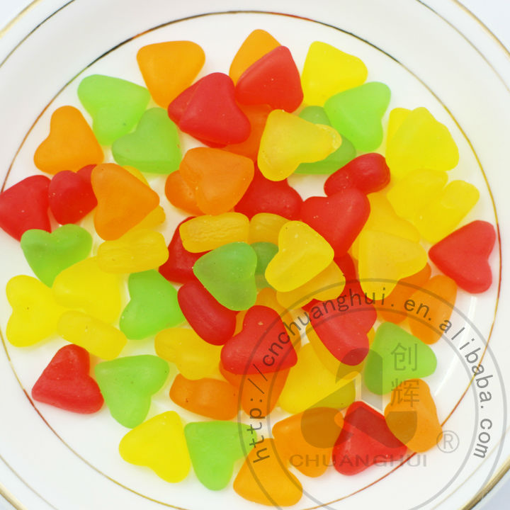 Heart Shape Gummy Candy In Bulk
