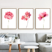 Traditional Print Wall Canvas Flower Paintings Picture