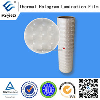 anti-fake package laser film thermal lamination film bopp film