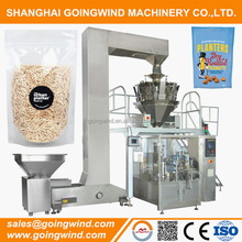 Automatic zip bag packaging machine auto granule zipper lock pouch weighing filling packing machinery cheap price for sale