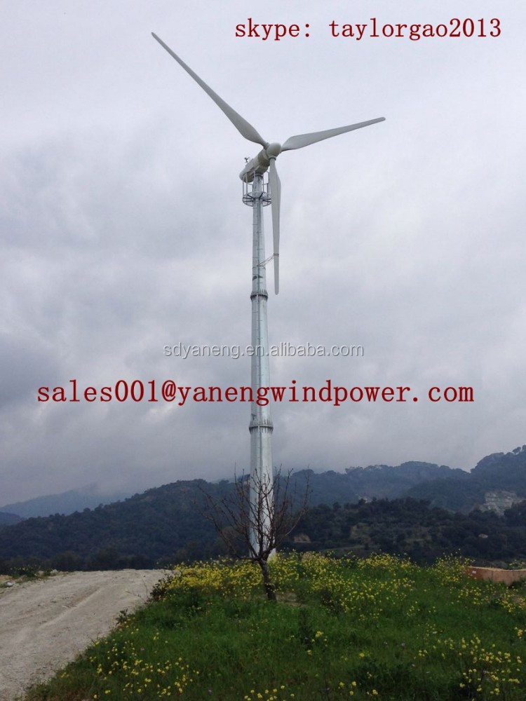 wind generator horizontal-axis 30kw wind turbine variable pitch controlled