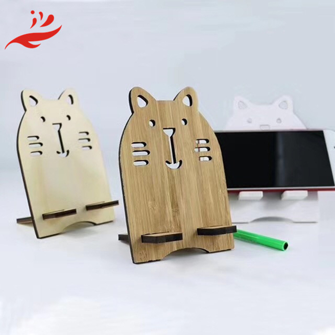 smart wood phone mobile holder OEM display stand