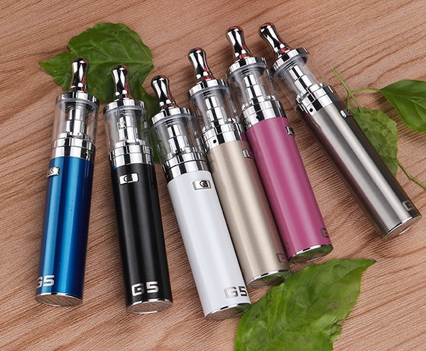 Electronic cigarette G5 2200mah ecigarette kit all in one design ecig dubai ecig 4ML atomizer ecig starter kit