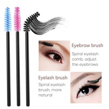50pcs/pack Disposable Eyelash Brush Mascara Applicator Wand