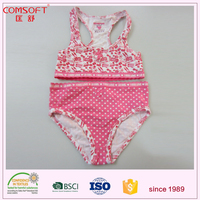 OEM fancy teenage girls swimwear sport underwear with your own brand