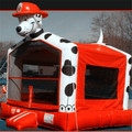 Hola dog inflatable castle/cheap bounce castle for kids