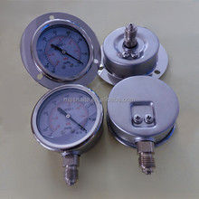 "2.5"" 63mm stainless steel vacuum pump pressure gauge"