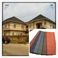 Non cracking Colorful Stone Coated Metal Roofing Slate Roofing Underlayment
