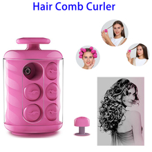 Latest Trending Products Fashion Magic Hair Care Automatic Hair Comb Curler