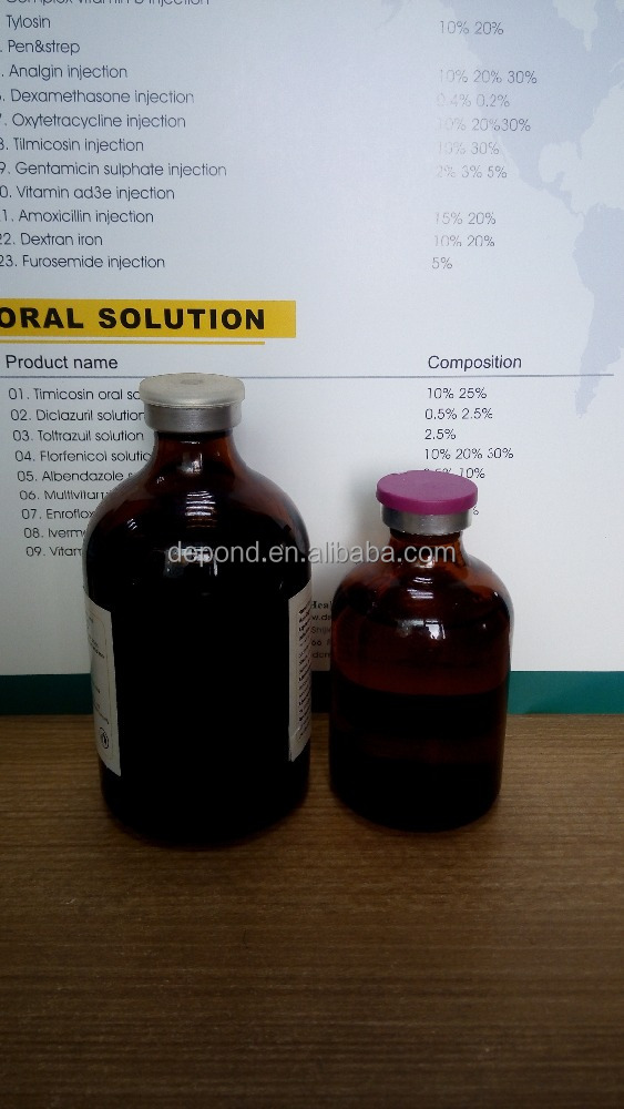 high demand export products wonderful effect high iron 10% iron dextran injection