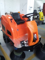 custom Ride-on floor sweeper ,warehourse clean machine , Electric road sweeper manufacture in china