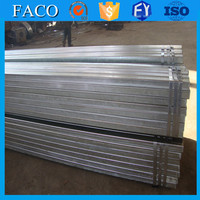 Tianjin gi square rectangular pipe ! corrugated pre galvanized steel pipe galvanized steel pipe price per meter
