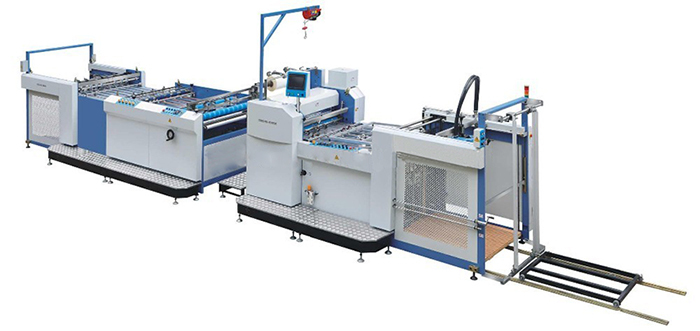 SW-1050G Fully automatic high speed film laminating machine
