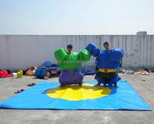 New inflatable sports games/ sumo suits sumo wrestling, adults sumo wrestling suits for sale B6075
