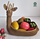 MYC Lovely Animal shape fruit basket stand/egg basket S06