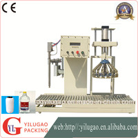 Semi-automatic weighing filling machine for cooking oil,water,wine,chemical liquid,Potion
