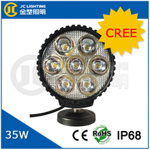 9~32V 35w spot led work light solar led street light for Truck, Jeep, SUV,4X4 Off-road, marine vehicles, engineering vehicles