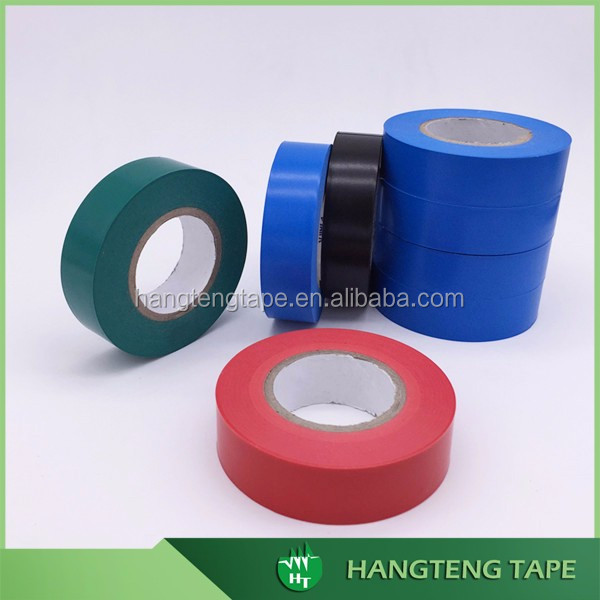 Colour Coding PVC Electrical Insulation Tape 20 m x 19 mm telecom adhesive tape